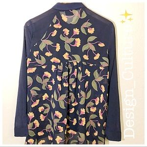 Maeve Floral Tunic Top